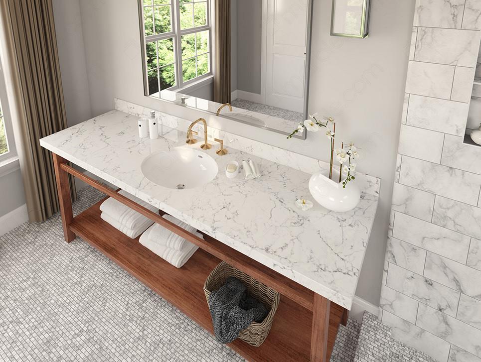 12 Best Quartz Bathroom Countertops In, Quartz Countertops Bathroom