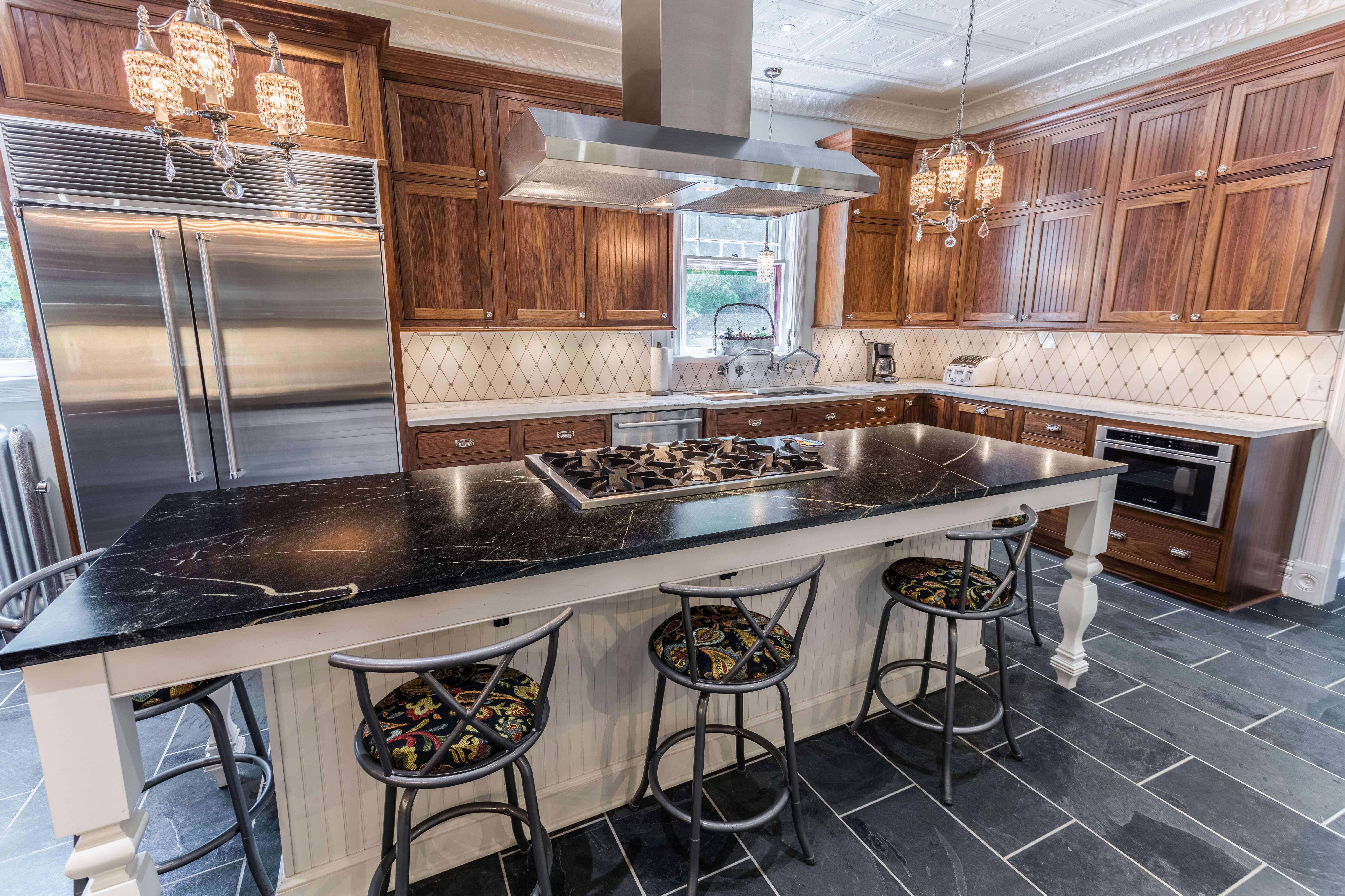 werks photo blog countertops soapstone kitchen indigo