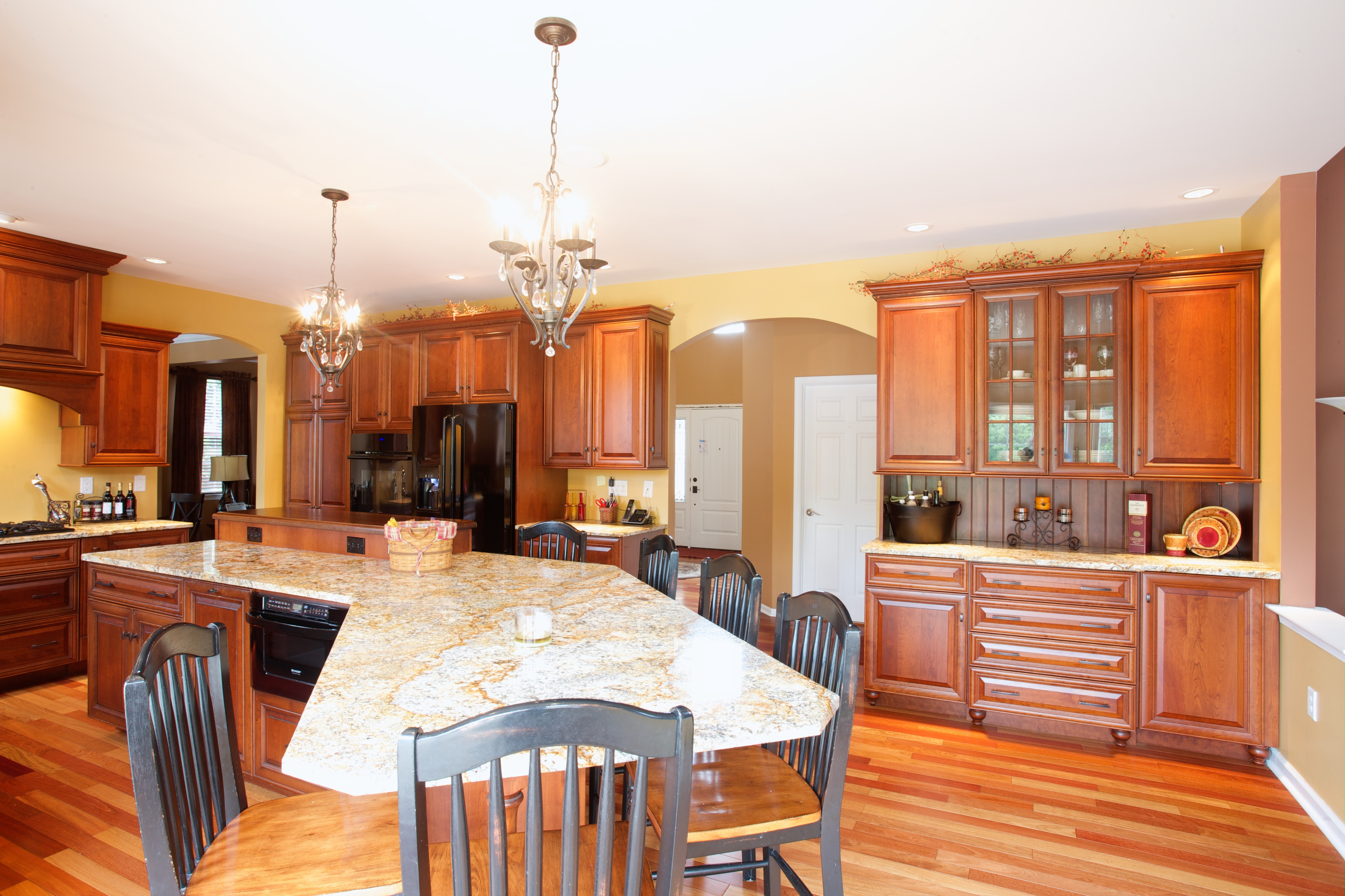 Warm Kitchen Flooring Warm And Cool Colors In Kitchen Design