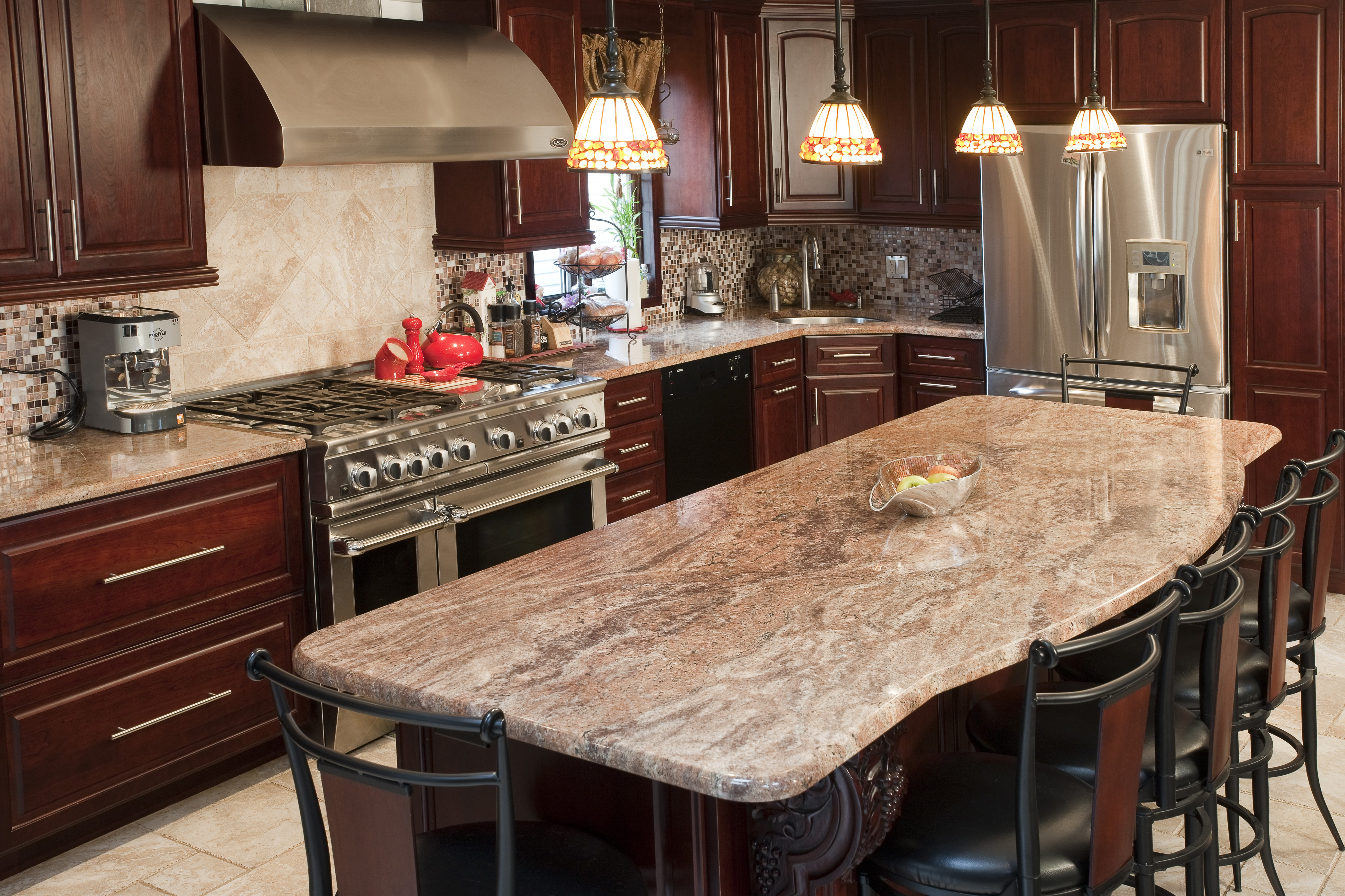 Two Tier Kitchen Island Designs Latest A Small Kitchen With A