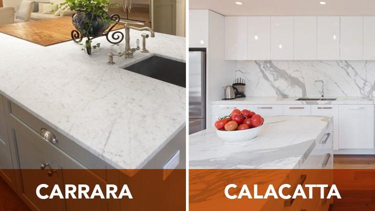 Calacatta And Carrara Marble