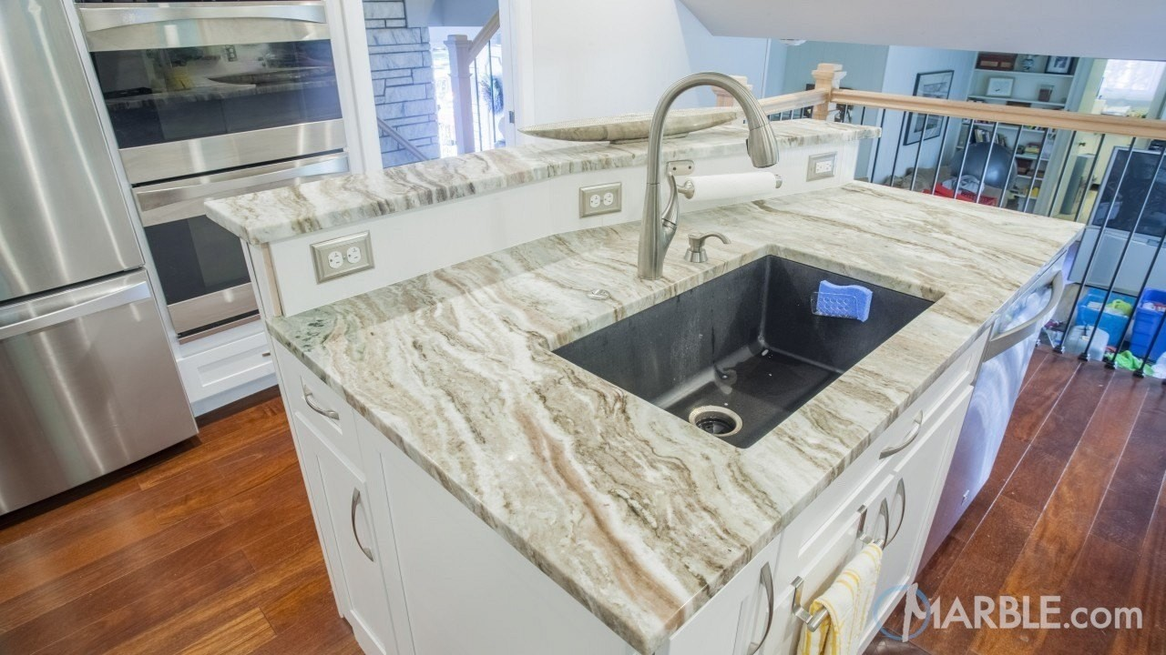 Attrayant If You Want An Attractive Stone For Your Countertops, And At The Same Time  Something That Will Last You A Very Long Time, Fantasy Brown Quartzite  Might Be ...
