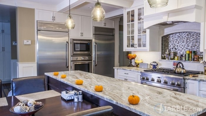 you can still use plenty of white in a light kitchen without resorting to all white  the kitchen below features white kitchen cabinets and classic white     kitchens that are light bright and not white kitchen design ideas  rh   marble com