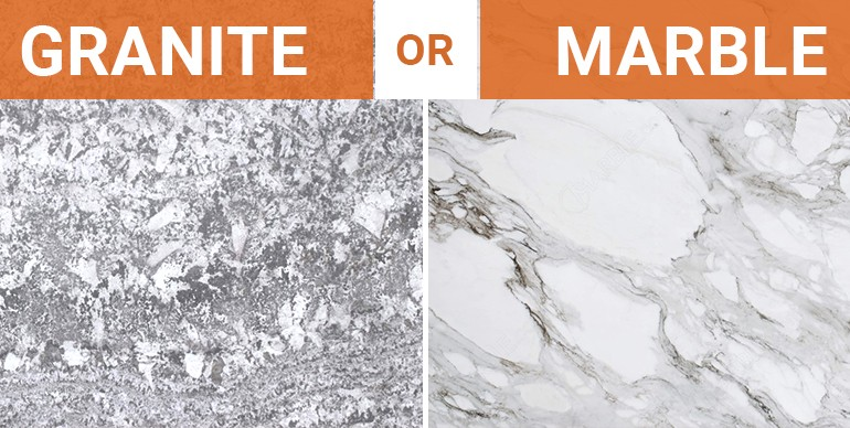 Granite vs marble for the kitchen how to decide for Granito vs marmol