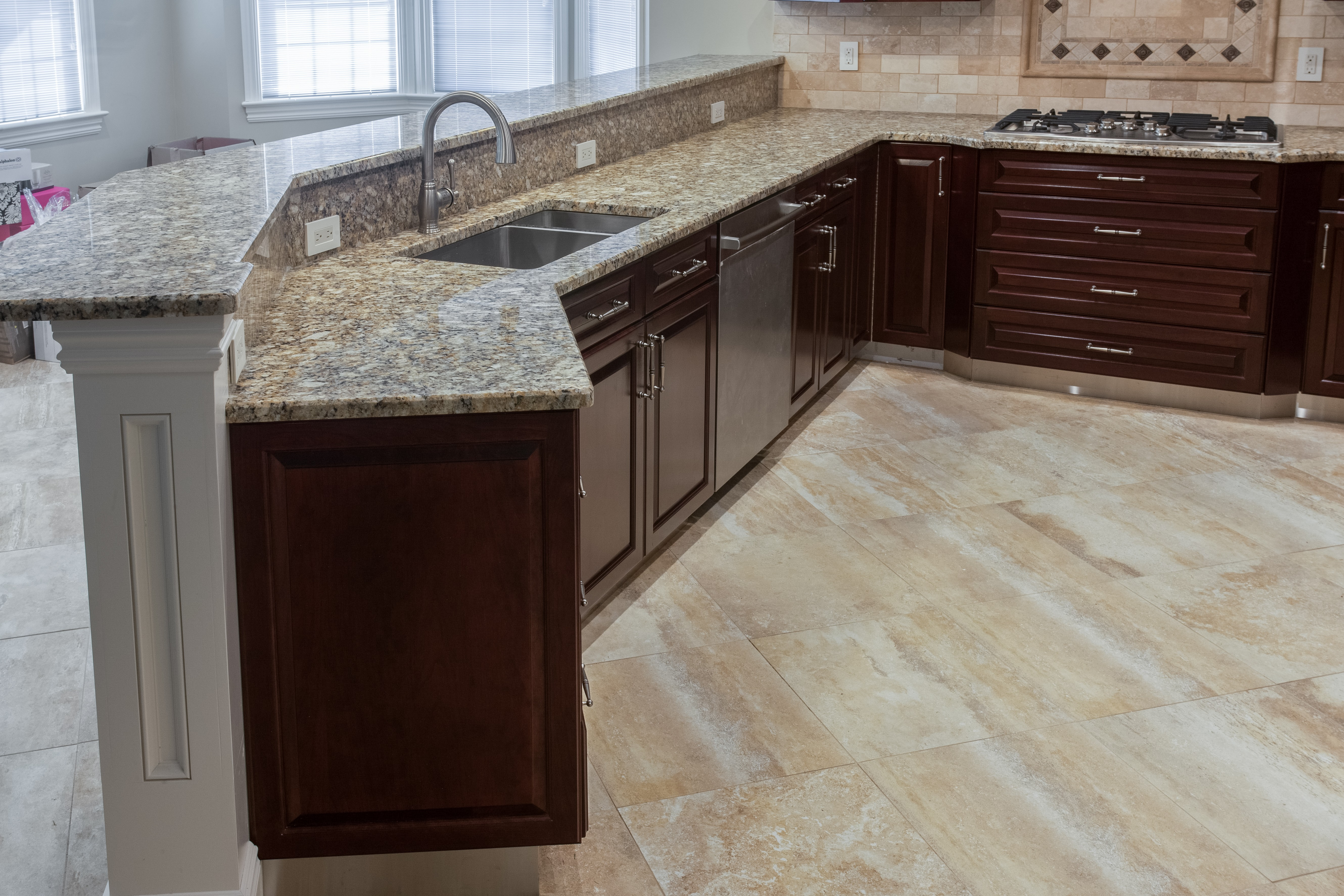 marble floor in kitchen the benefits of marble and granite floors kitchen design 7366