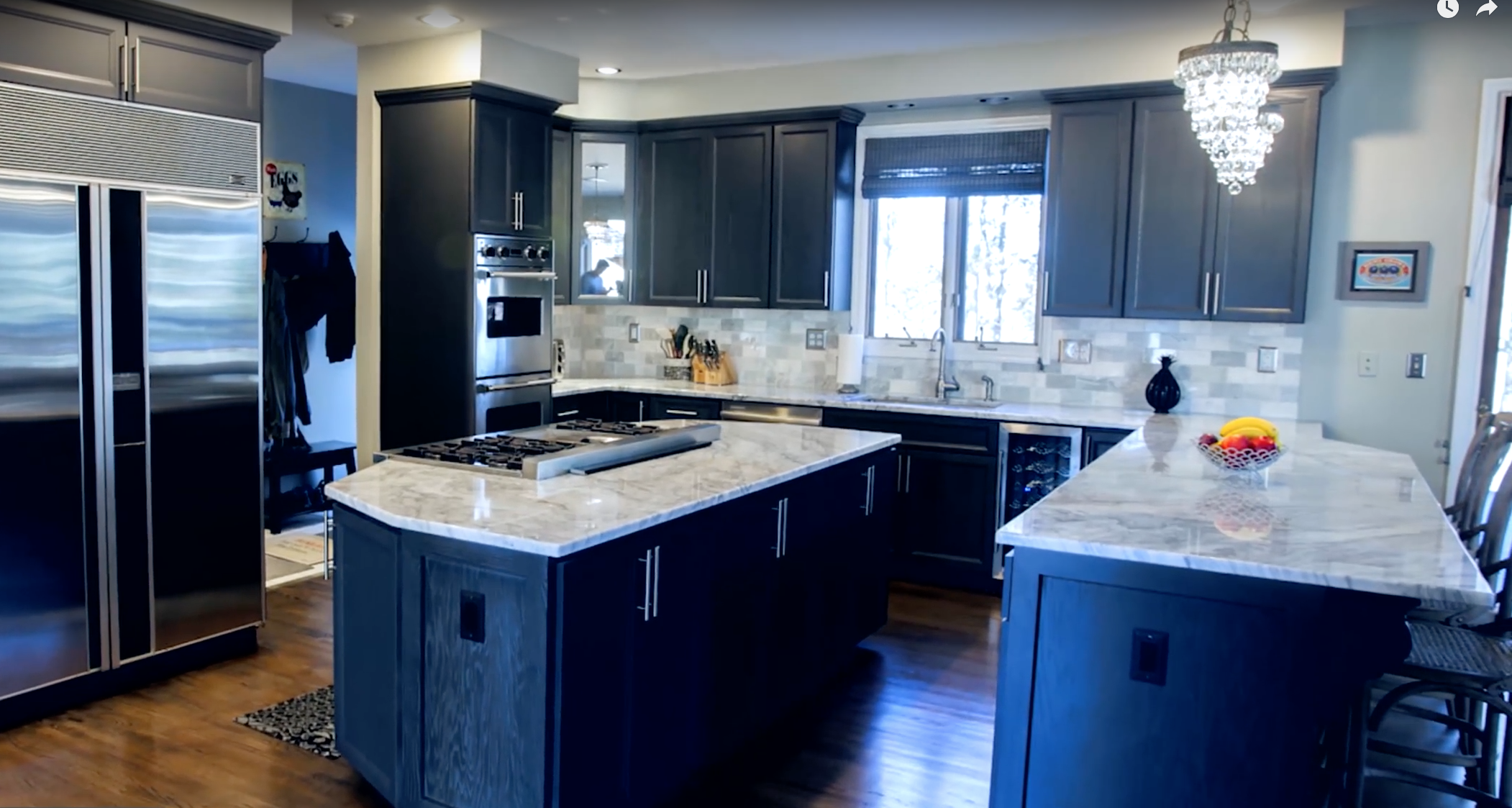 Top 5 Kitchen Countertop Choices for Dark Cabinets