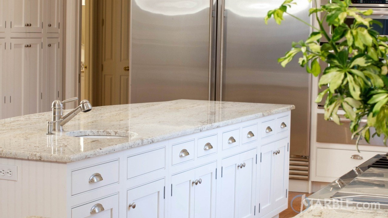 Colonial Gold Granite Has A High Level Of Variation Often Giving It  Different Appearance When Seen From A Distance. From Afar, Depending On The  Slab Can ...