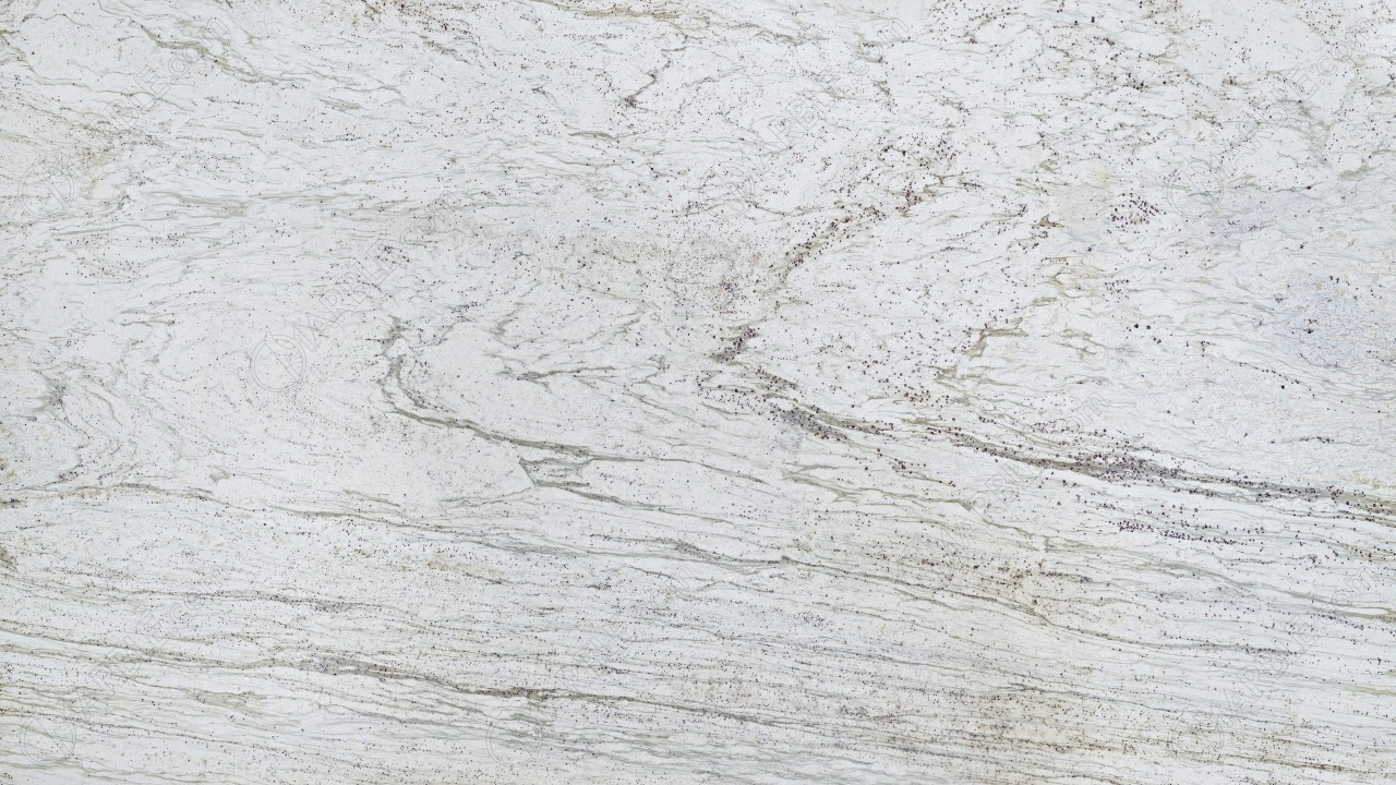 White Marble Granite : The top granite countertops to complement dark cabinets