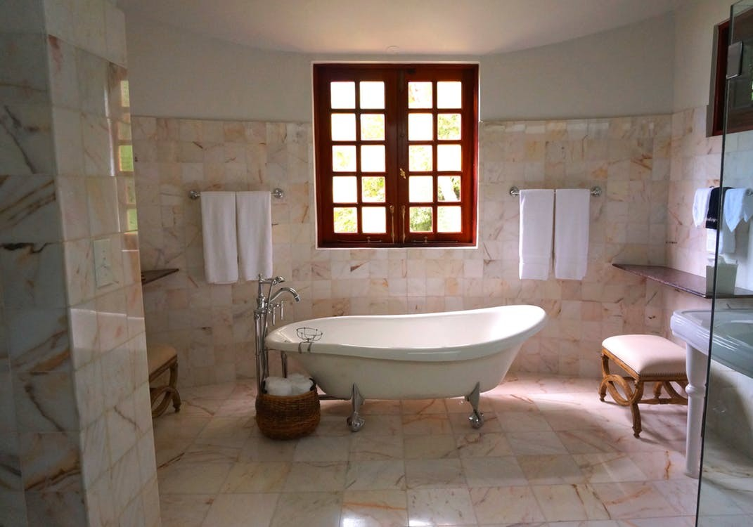 Natural Stone Tile Floors; Home Design Facts
