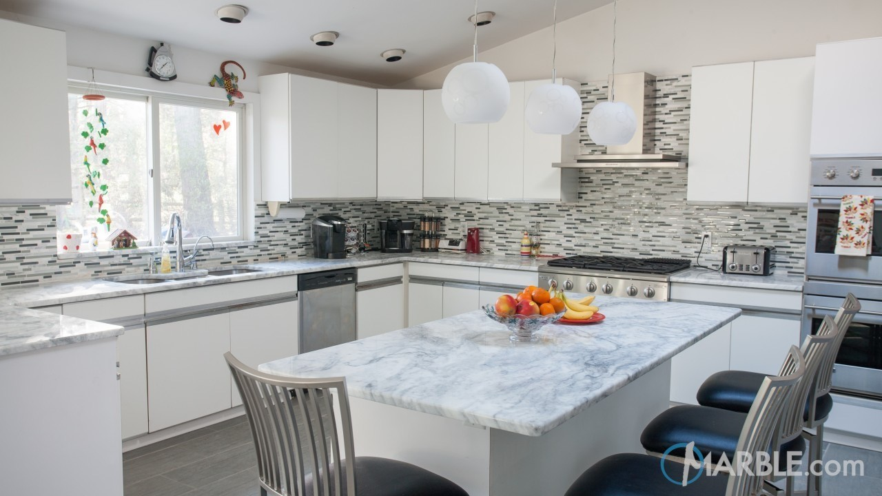 It makes for a fantastic countertop option for both the kitchen and bathroom  counters.
