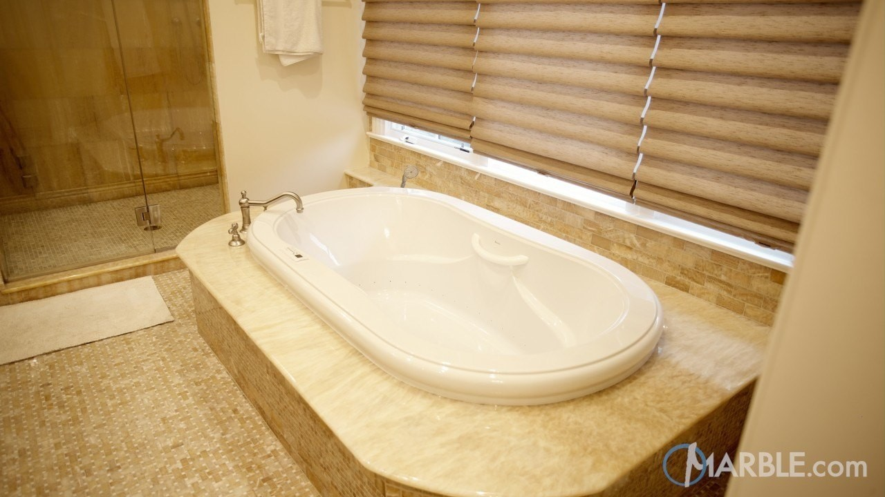 Choose Natural Stone for your Tub Surround; Bathroom Design