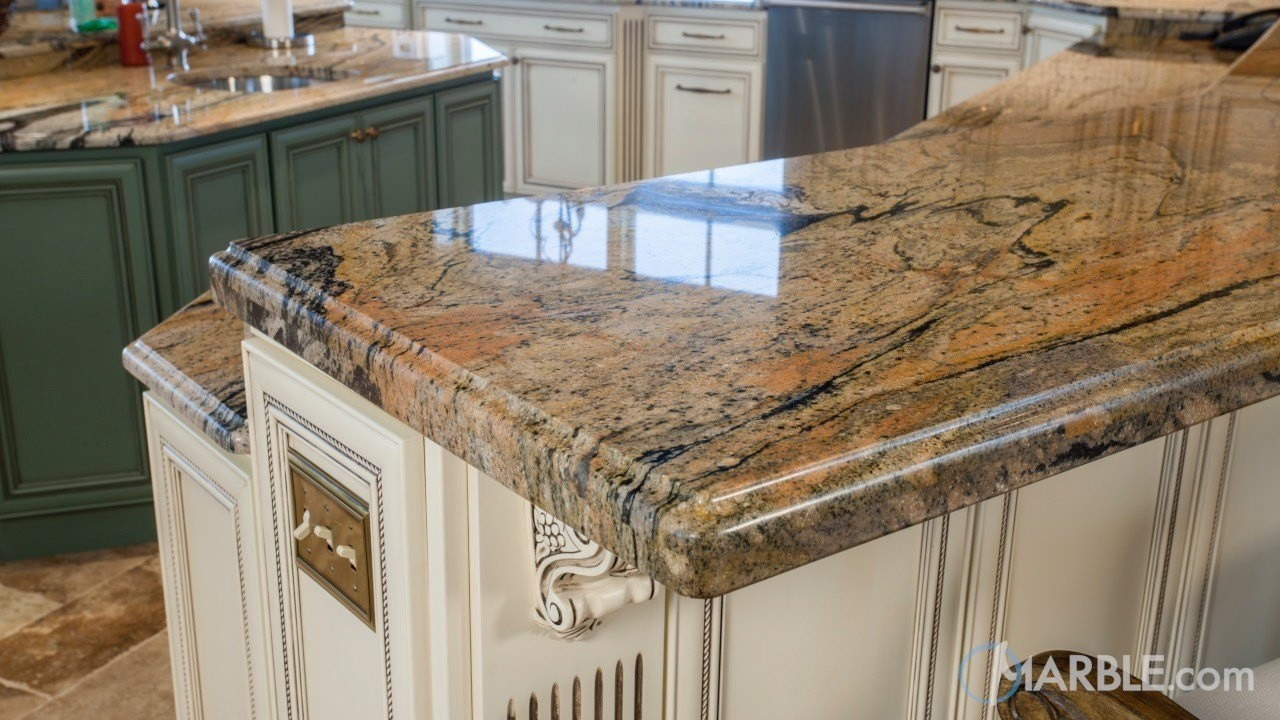 Peregrine C Granite Has A Unique Pattern That Willl Make Bold Statement In Your Kitchen