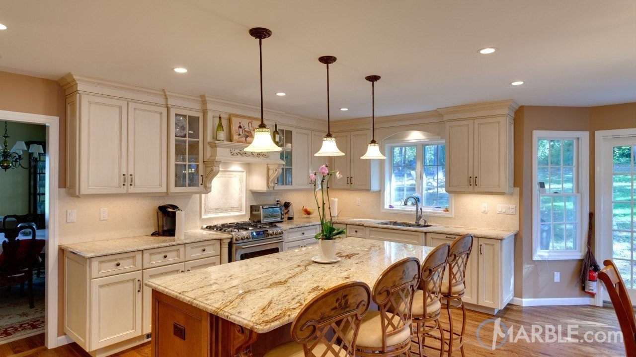 Top 5 kitchen countertop choices for white cabinets Kitchen countertop choices