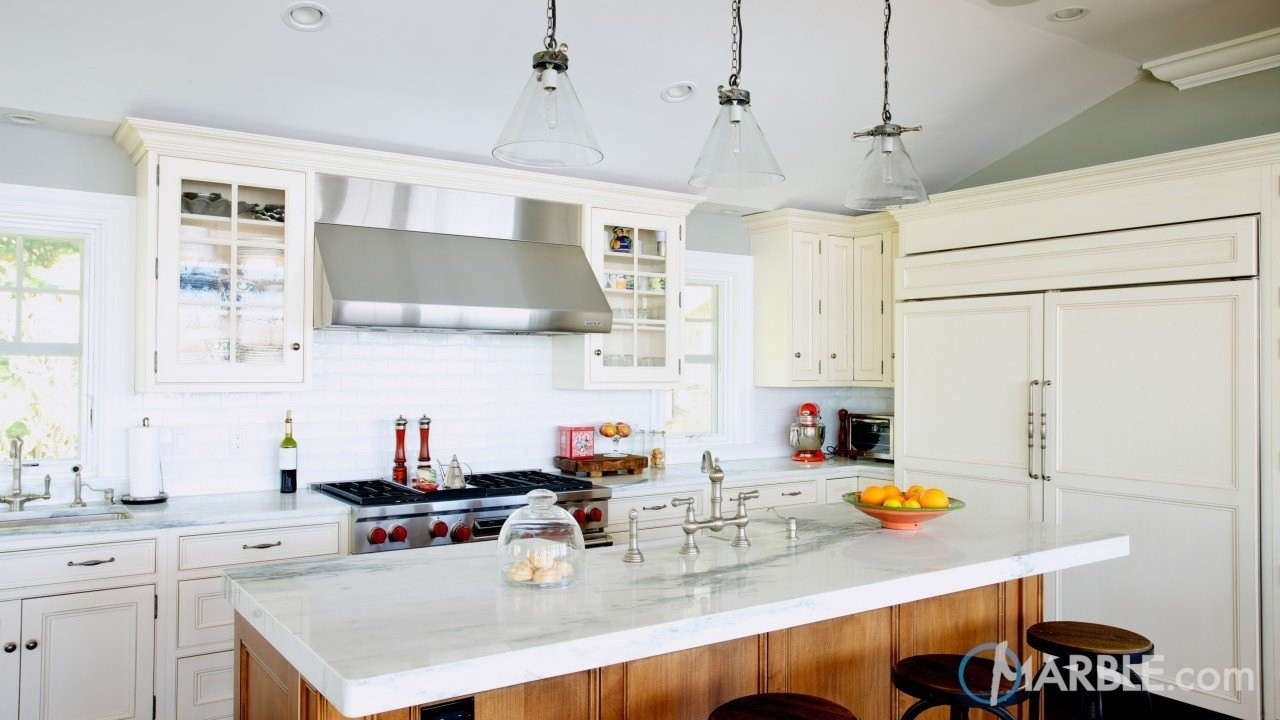 Marble in the Kitchen; design ideas and facts