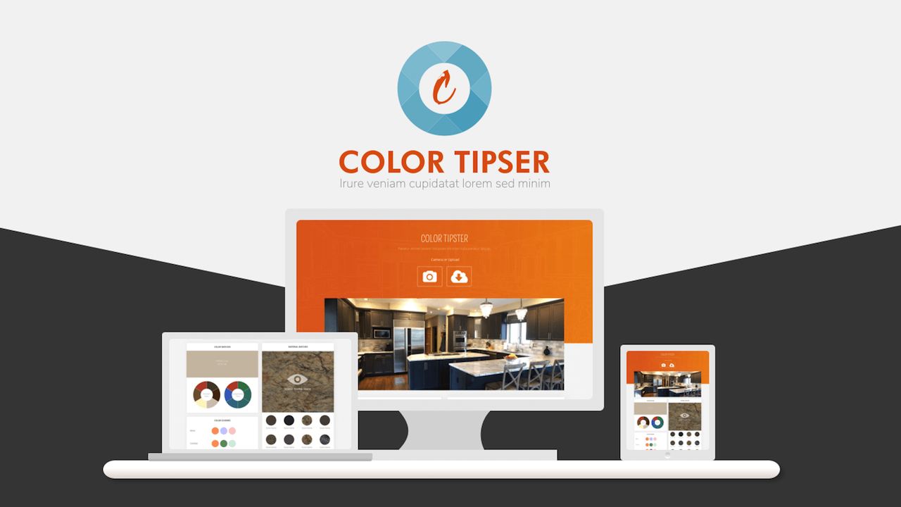 Using the New Design Tool Color Tipster online tools interior design