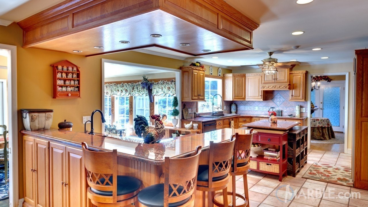 The Wide Versatility Of Granite Counters Offer A Plentiful Range Of Options  To Pair With The Rustic And Earthy Color Spectrum Typically Found ...