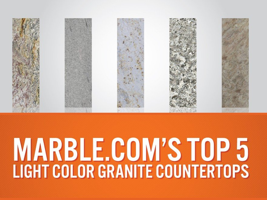 Top 5 Light Color Granite Countertops article thumbnail