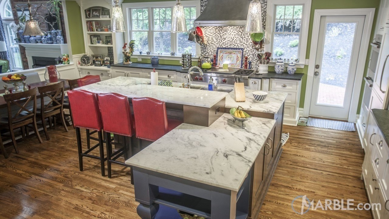 kitchen island with raised breakfast bar. Please see this earlier article for the added advantages installing  double kitchen countertop islands in your As always please contact an Single Island or Raised Breakfast Bar tips