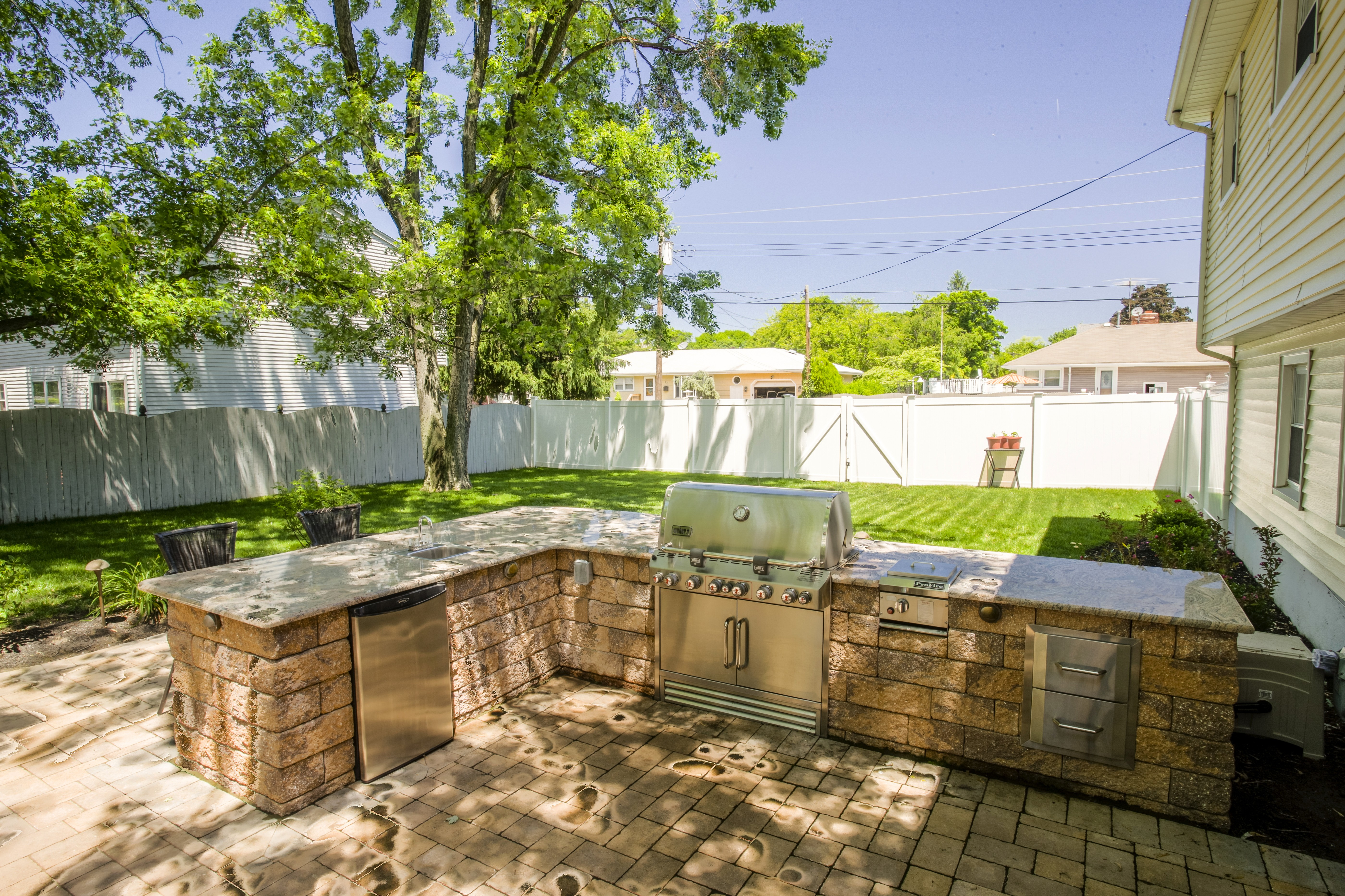 There Are Many Options For Improving Your Backyard Space, From Adding A  Grill Area To Totally Transforming The Outdoor Living Space.