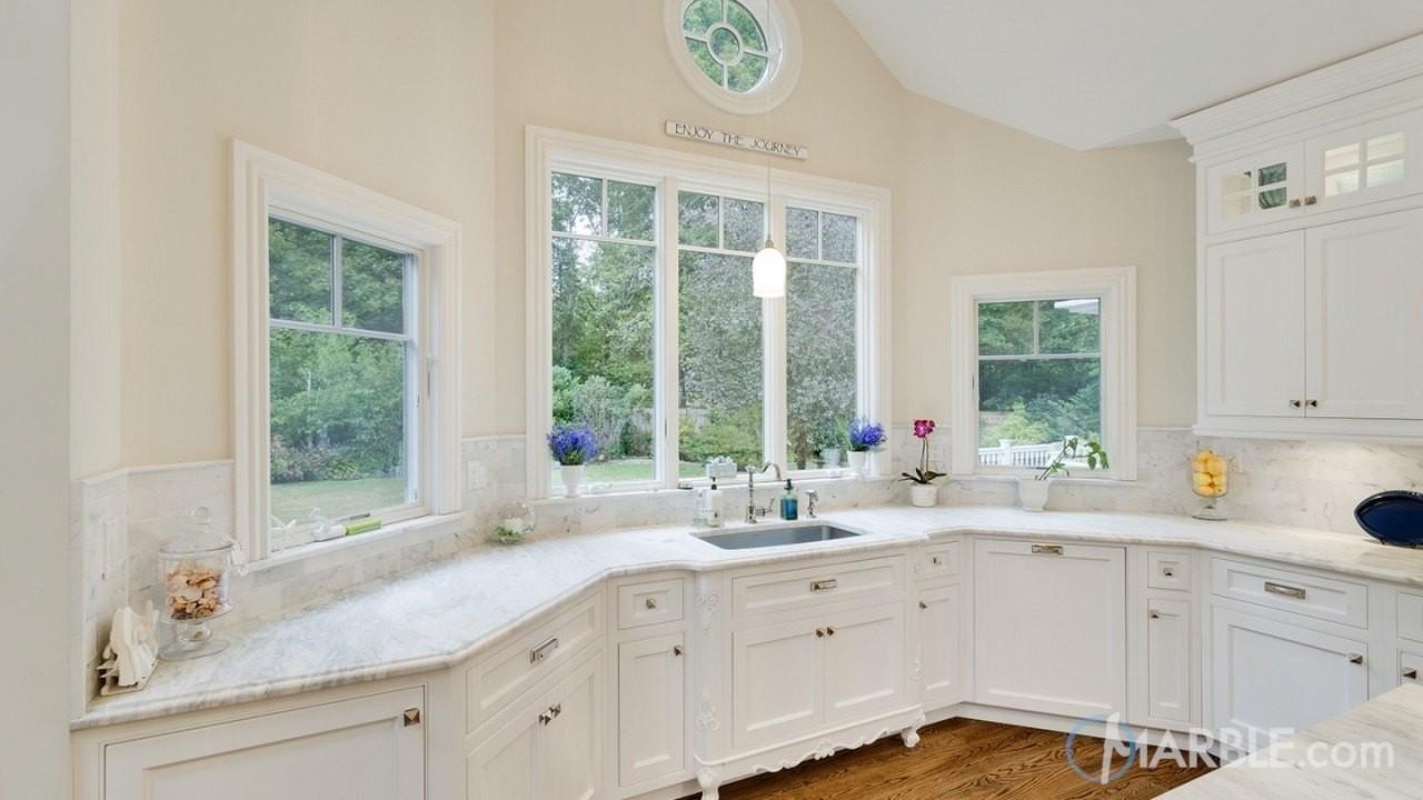 White on White; Kitchen Design Inspiration