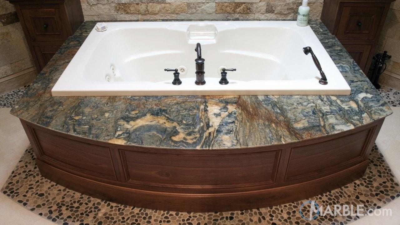 5 Amazing Bathtub surrounds; bathroom inspiration