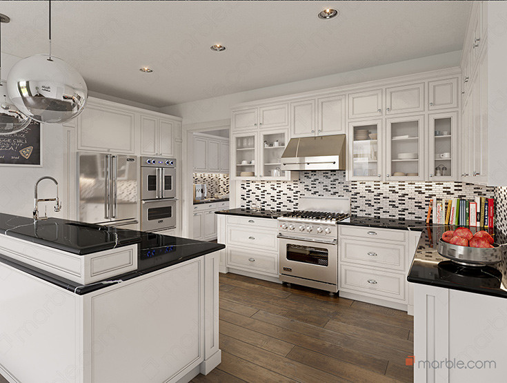 Light Cabinets Dark Countertops 2021 How Can You Pair Marble Com