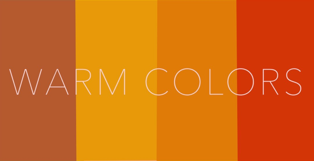 how can warm colors affect mood
