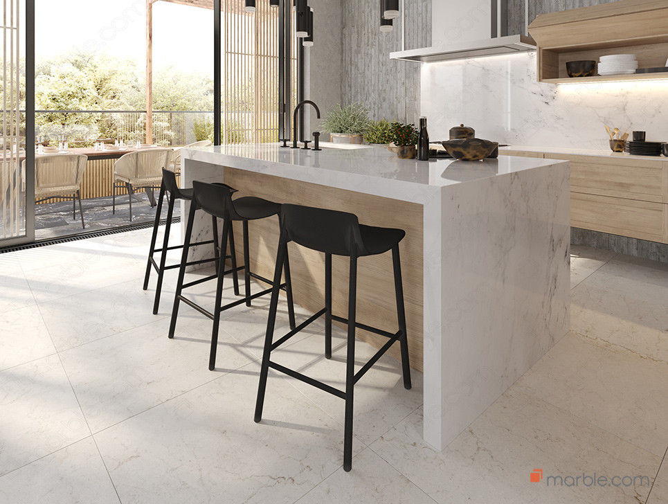 Waterfall Countertops In 2021 Buying Guide Marble Com