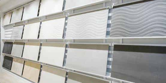 wall of sample materials