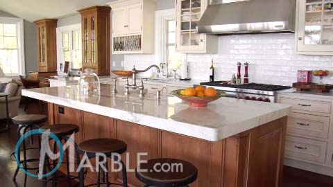 Kitchen Counter Marble how to correctly clean and maintain your marble worktop home chunk Mountain White Danby Marlbe Kitchen Countertops Marblecom