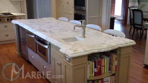 calacatta oro marble kitchen countertops marblecom