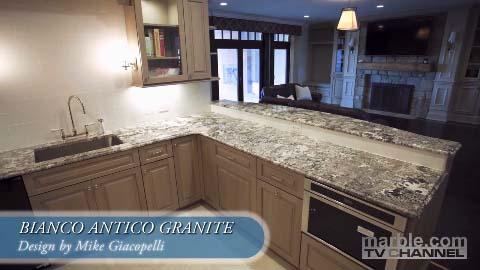 Bianco Antico Granite Kitchen Design | Marble.com