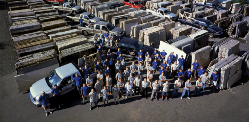 Granite Fabricators in New Columbia, New Jersey