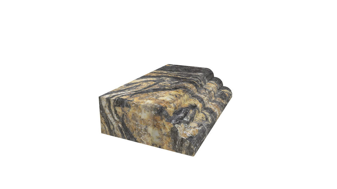 WATERFALL countertop edge 3D