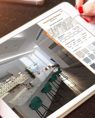 Virtual Room Designer on ipad