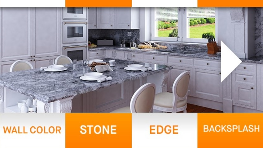 Budget Granite Countertops : Granite Countertops on a Budget for Kitchens and Bathrooms