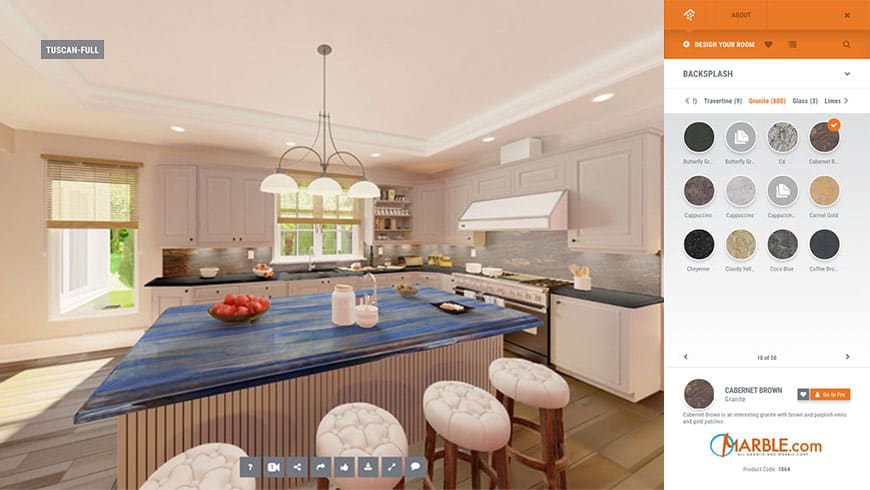 Exceptional 2D And 360 Visualizer Is A Tool That Allows You To Create A Visual  Representation Of Your Kitchen Design. Start With The Layout That Matches  Yours And Then ...