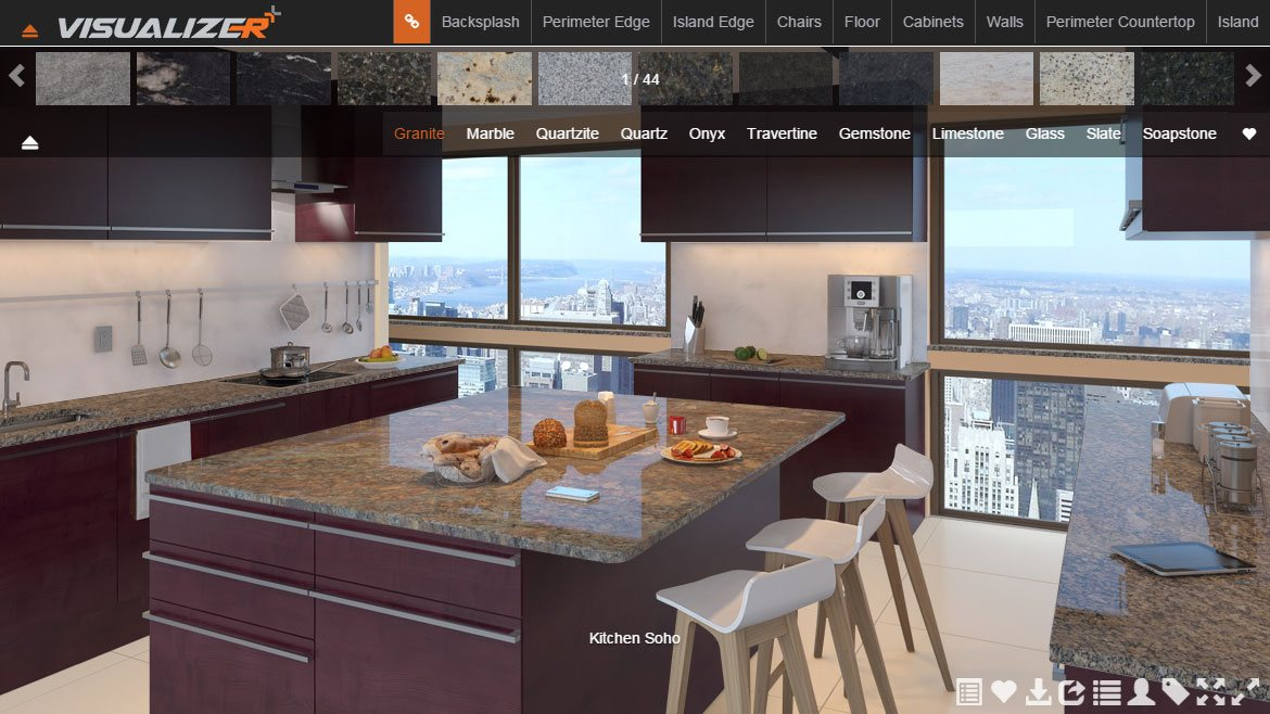 Design Tools Edges And Kitchen Visualizer