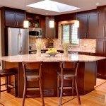 Ciele De Oro Granite Counters in an Open Kitchen | Marble.com
