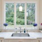 Classic White Quartzite Countertop In A Beautiful Dream Kitchen   Marble.com