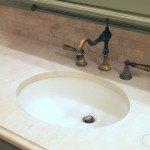 Crema Marfil Marble Master Bathroom Countertop | Marble.com