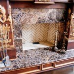 Emperador Dark Marble Fireplace | Marble.com