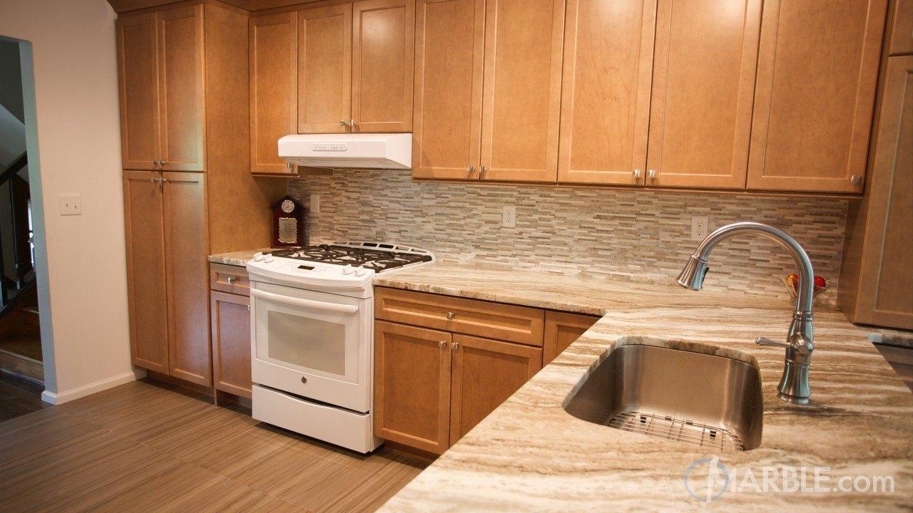 Fantasy Brown Quartzite Kitchen | Marble.com