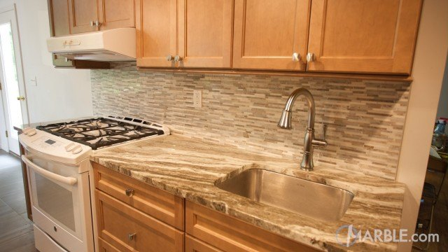 Fantasy Brown Quartzite Countertop