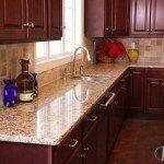 Giallo Ornamental Granite Kitchen Counters | Marble.com