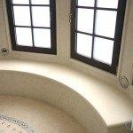 Jerusalem White Limestone Shower Seat (Bench) | Marble.com