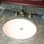Green Ocean Granite Bathroom | Marble.com