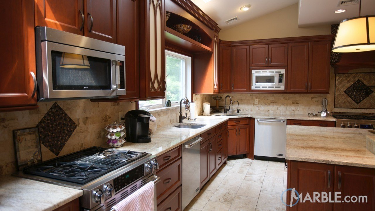 River Valley Granite Kitchen | Marble.com