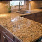 Savannah Gold Granite Kitchen Countertops | Marble.com