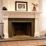 Silver Pearl Granite Custom Fire Place Surround | Marble.com